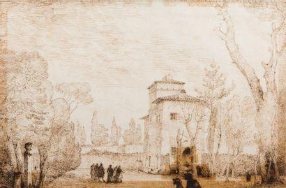 Attribué à François Marius GRANET (Aix 1775...