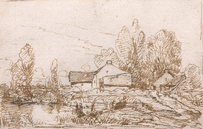Théodore ROUSSEAU  (Paris 1812 – Barbizon...