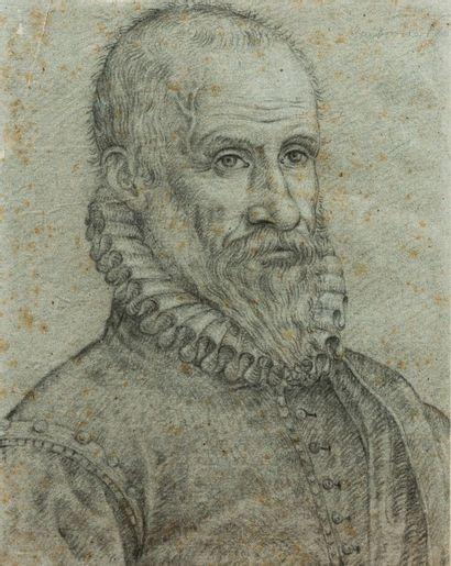 Ecole française vers 1620  Portrait d'Ambroise...