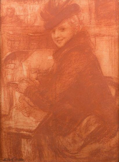 Helier COSSON (Châteauroux 1897 - 1976)  Femme...