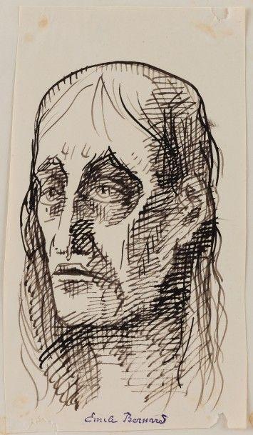 Emile BERNARD (Lille 1868 - Paris 1941)  Un...