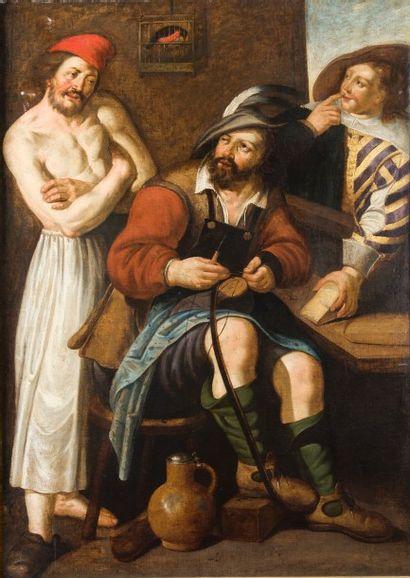 Attribué à Dirck Woutr CRABETH (1593 - 1644)...