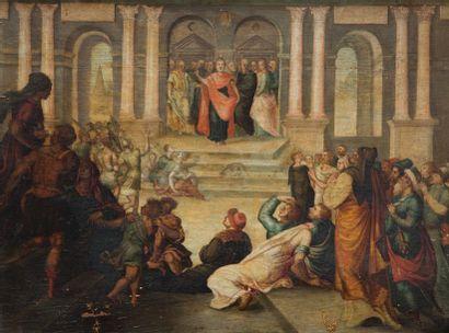Ecole FLAMANDE du XVIIème siècle, dans le...