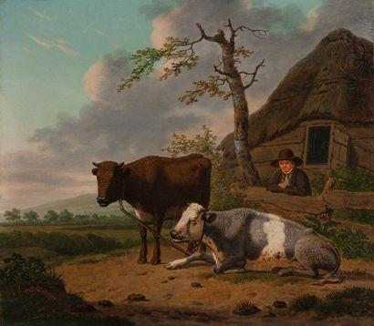 Hendrik van OORT  (Utrecht 1775 - 1847)  Deux...