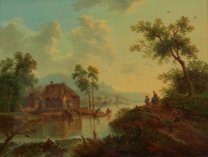 Attribué à Christian Georg SCHÜZ (1718 -...