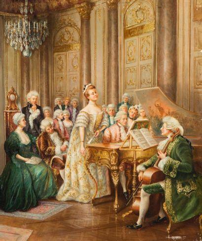Ecole VIENNOISE de la fin du XIX ème siècle...