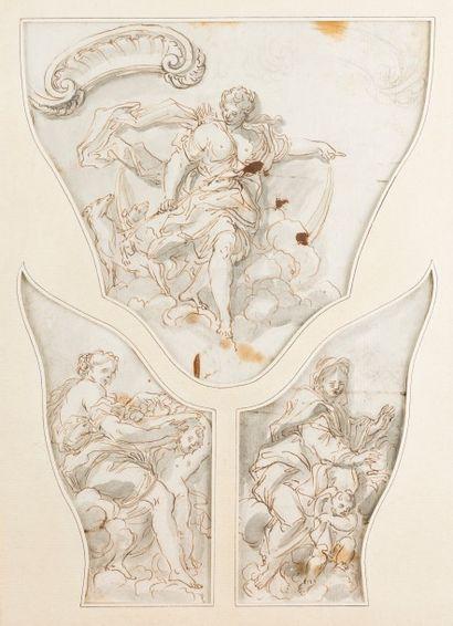 Attribué à Paulus SCHOR (Innsbruck 1615 –...