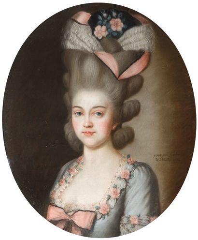 Caroline de POLLET, née von PASCHELBEL -...