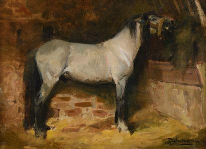 Henri DELUERMOZ  (Paris 1876 – ? 1943)  Cheval...