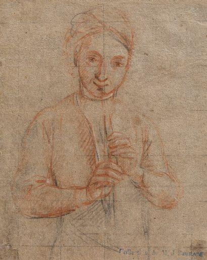 Ecole Française ou Italienne vers 1700  Joueur...