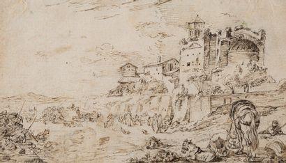 Attribué à Jan MIEL (Anvers 1599 - Turin...