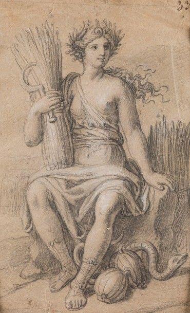 François VERDIER (Paris 1651 – 1730)  Allégorie...