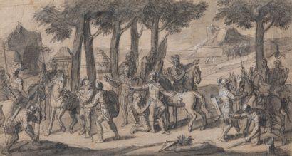 François VERDIER (Paris 1651 – 1730)  Halte...