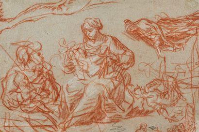 Ecole française du XVIIème siècle  Etude...