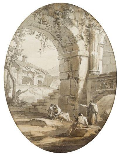 Antonio ZUCCHI (Venise 1726 - Rome 1795)...