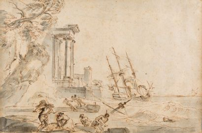 Jean-Baptiste LALLEMAND (Dijon 1716 - Paris...