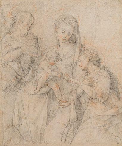 Attribué à Francesco VANNI (Sienne 1563-1610)...