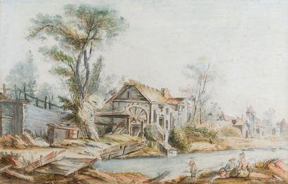 Ecole de Jean-Baptiste LALLEMAND (Dijon 1716...
