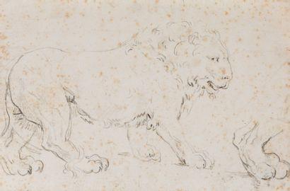 Attribué à Jacques-Louis DAVID (Paris 1748-...
