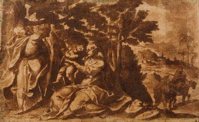 Attribué à Cesare FRANCHI (Pérouse 1580 –...