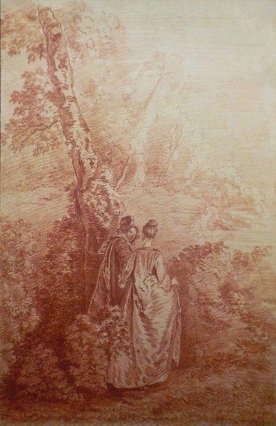 Suiveur d'Antoine WATTEAU (Valenciennes 1684...