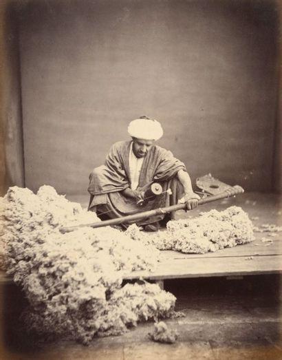 Ermé DESIRE (actif vers 1865-1885)<br>« Souvenirs du Caire », vers 1865