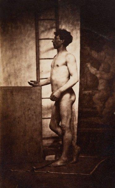 AUTEUR NON IDENTIFIE, cercle du sculpteur<br>Charles Simart (1806 - 1857)