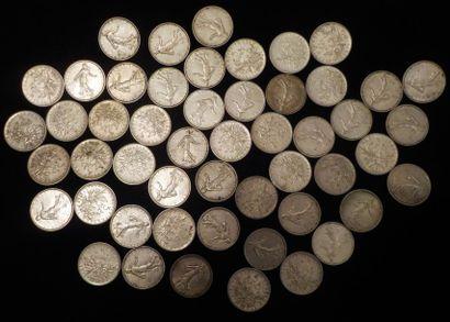 51 x 5 francs 1962