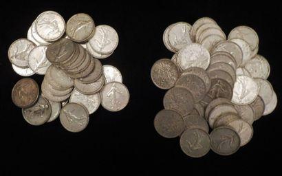80 x 5 francs (dont 33 x 1964 et 47 x 19...