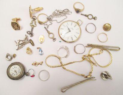 Petit lot de bijoux fantaisie comprenant...