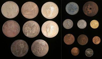8 x 100 francs sur la Libération de Paris...