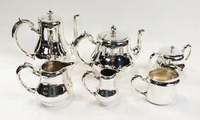 CHRISTOFLE  Service à thé et café en métal...