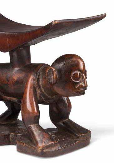APPUI-TÊTE YAKA YAKA HEADREST RÉPUBLIQUE DÉMOCRATIQUE DU CONGO Bois, métal Dimensions:...