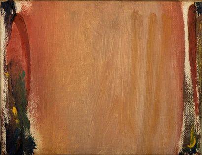 Olivier DEBRE (1920-1999)  Ocre d'automne, Washington, 1982  Huile sur toile signée,...