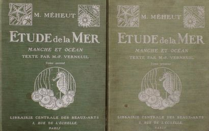 Mathurin MEHEUT (1882 - 1958)  Etude de la...