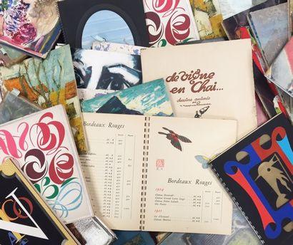 Importante collection de catalogues Nicolas