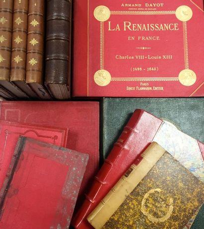 Lot de livres historiques divers :  - Armand...