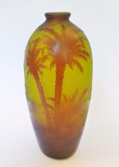 Paul-Nicolas D'ARGENTAL (1875 - 1952)  Vase...
