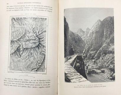 Elisée RECLUS (1830 - 1905)  Géographie Universelle,...