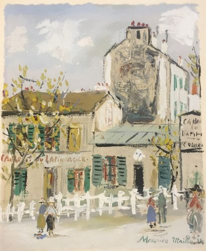 Maurice UTRILLO (1883 - 1955)  Jean Vertex...