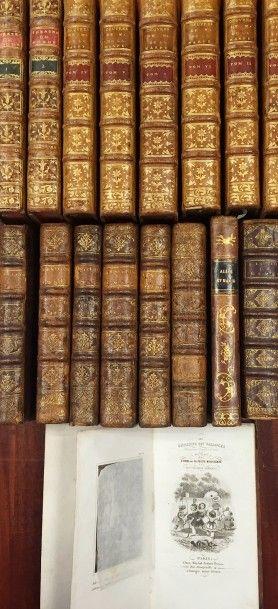 Lot de livres divers :  - Œuvres de M. DE...