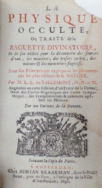 Pierre le Lorrain dit Abbé DE VALLEMONT (1649...