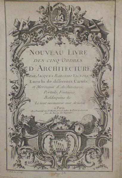 Jacopo Barozzi DA VIGNOLA  Nouveau Livre...