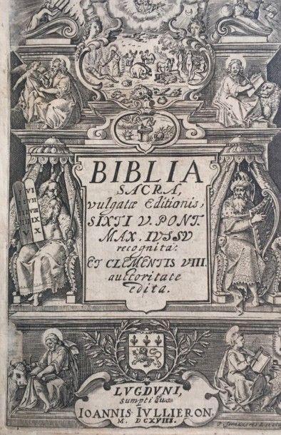 Lot de livres anciens XVIIIème et XIXème...
