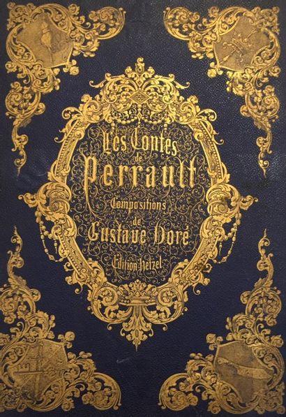 Lot de quatre livres :  - Les Contes de PERRAULT,...