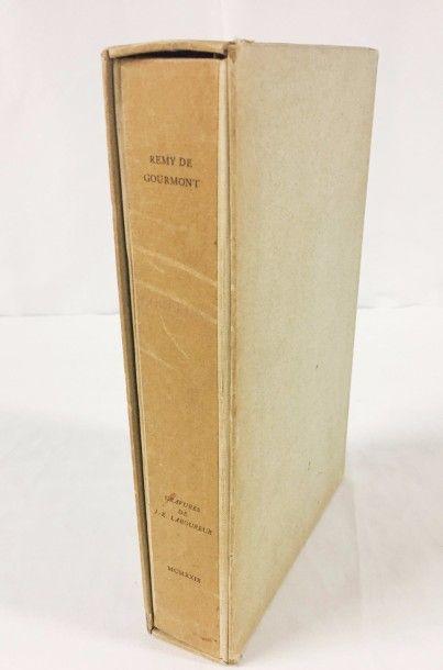 Remy de GOURMONT (1858 - 1915)  Couleurs....