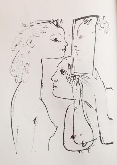 Pablo PICASSO (1881 - 1973)  Catalogue d'exposition...