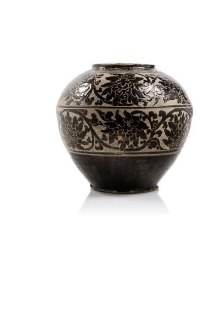 Chine, période Jin-Yuan, XIIIe siècle.  Jarre...