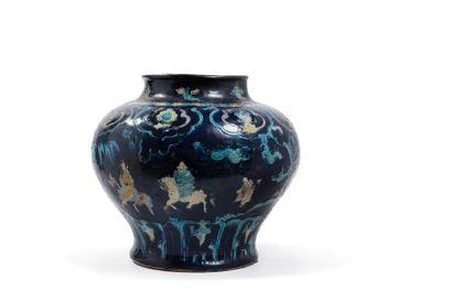 Chine, période Ming, Xve siècle  明代法华釉人物...