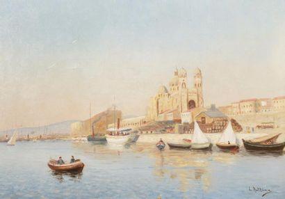 Louis NATTERO (Marseille 1870-1915)  La Major,...